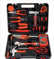 Wholesale Electronic Tools Set Basic Fix Repair Home Essentials Tools Set Hand Carry Tool Box Kit