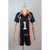 anime school uniform cosplay - New Anime Haikyuu Karasuno Cosplay Jersey Shirt Shorts Costume High School Volleyball Club Haikyuu Uniform
