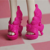 baby trend accessories - fashion Children kids baby toys nice Girls Gift Doll Accessories shoes trend bjd casual For Monster High Dolls