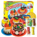 best funny - Color Clay Dough set Funny Children Toys cake Free Tools and Accessories For Kid the best gift for children Small