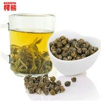 C-LC008 Vente en gros de soins de santé Jasmine Fleur Thé Premium Jasmine Pearl Thé parfumé 100g Chine Coût-efficace de thé vert