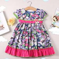 Wholesale Children S Wholesale Lace Dress - Fashion Children 's girl floral dress summer new Korean Girl's Dresses skirt sleeveless lace Princess Kids Clothing 886