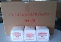 antistatic wipes - Antistatic Nonwoven Wipe Polyester fiber Lint free Cleanroom wiping paper M