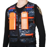 Wholesale Custom logo dropshipping New Outdoor Tactical hunting Vest Kit For outdoor hunting Nerf N strike Elite Games