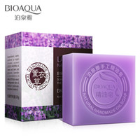 alternative treatment - Bioaqua Natural Handmade Oil Soap Fresh Clean Nourish Tender Skin Whitening soap Three Alternative Anti Ance aging g