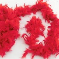 Wholesale Fluffy Feather Boa Dressup Hen Night Wedding Party Burlesque Fancy Dress Boas