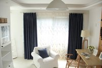 Wholesale Fantasies Behind the Pearly Curtain Insulated High grade Solid Style Curtains Shade Fabrics Living Room Bedroom Simple and Modern Style