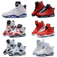 baby olympics - With shoes Box High Quality Retro Men Basketball Airs Shoes Carmine Infrared Sport blue Olympic Slam Dunk Oreo Baby Kids Sports SHOE