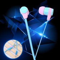 Cheap YN808 Lowest price earphone colorful wired headphones support sport runing headset with microphone for MP3 phone