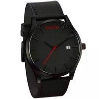 Wholesale 2016 uxury brand quartz watch Casual Fashion Leather watches reloj masculino men watch mvmt Sports Wristwatch Relogio Masculino