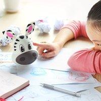 Wholesale Mini Cartoon Tumbler Bluetooth Speaker Music Recriver Chirstmas gift for children Zebra Tumbler Wireless Mini Portable Bluetooth Speaker