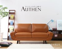 Wholesale European fashion leather sofa sitting room small family pair sofa single three modern office furniture
