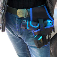 Wholesale Portable Cordless drill Holder Holst Tool Pouch For v Drill Waist Tool Bag New Y103
