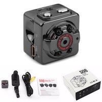 Venta al por mayor-1080P HD espía 12MP Digital Mini cámara DVR deportes infrarrojos de visión nocturna de detección de movimiento de la cámara SQ8 Camara espía espía