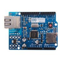 Wholesale Compatible Ethernet Shield W5100 R3 Support PoE UNO Mega Nano for Arduino Development Boards DBP_40E