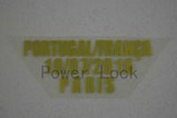 Wholesale Power Lock Portugal and Franca paris Match Details Patch AD0005
