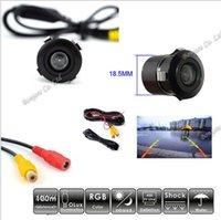 Wholesale 170 Wide Angle NTSC Night Vision Car Styling Car rear view camera CCD reverse parking camerra Waterproof Free Shpping