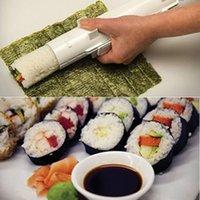 Wholesale HOT SUSHI BAZOOKA Made Easy Sushi Bazooka Sushi Maker Roller Kit for Christmas Gifts Kitchen Tools DHL FREE