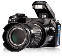 al por mayor al por mayor de las cámaras digitales de lcd-Venta al por mayor-D3000 5.0MP CMOS 3.0 pulgadas TFT LCD de la cámara digital Cámaras digitales de zoom óptico 21X con faros LED