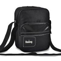 affordable messenger bags - Men Business Casual Black Messenger Travel Leisure Vertical Nylon Cross Body Bag Affordable Practical Durable Male Shoulder Bag Factory Sell