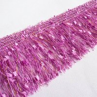 Wholesale Drop Shipping Yards CM Width Tassel Fringe Trim Lace Ribbon Curtain Sewing Handcrafts Household Decoration YR0110
