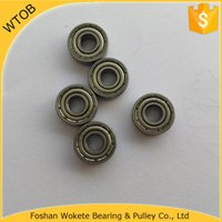 Wholesale Miniature Ball Bearing zz for Conventional Fishing Reel Micro motor Power tool Gym facility Precision Instrument Ball Bearing pc