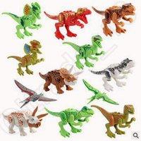 Wholesale New set Jurassic World Dinosaur Series Figures Building Blocks Sets Education Kids Toys Minifigure Bricks CCA5425 set