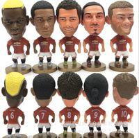 Wholesale Football sports star Marshall Ibrahimovi Rooney Rush Foldes Morin Mourinho Ferguson MU doll doll ornaments