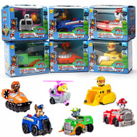Wholesale Patrulla Canina Toys Patrol Dog Model Toys Scooter with retail package For Children Gift Brinquedos