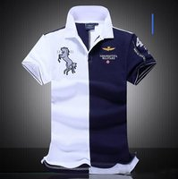 air industries - 2016 new Air Force One men s boutique embroidery aviation industry militare Men s POLO cotton fashion brands