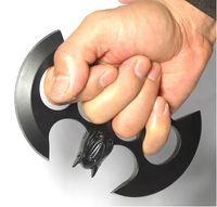 Wholesale Defensemen Batman Knuckle knife knives Heavy Knuckle dusters Steel Brass knuckles Self Defense tool Steel Alloy Iron Boxing gloves