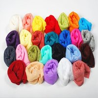 Wholesale 2015 candy color women cm Scarfs Cheap Scarves Fashions Chiffon Scarf Ladies Neck Scarf Turbans wraps neckerchief Shawl