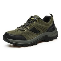 Wholesale Age season new men s shoes Men low waterproof outdoor climbing leisure sports shoes for hiking shoes