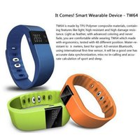 Wholesale FITBIT TW64 Bluetooth Smartband fit bit wrist activity sleep wristband Smart Bracelet For IOS Android iPhone Plus S Smart Band