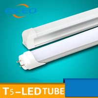 Wholesale EICEO LED T8 T5 Integrated Tube mm mm V Transparent Clear Cover Milky Cover White Warm White