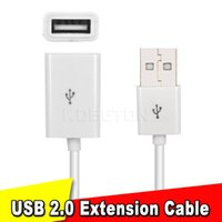 Wholesale USB A Male to Female Extension Data Cable M USB Extension Cable Extender Charge Extra Cable For PC Laptop Tablet