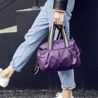 Wholesale Large capacity women s bag Oxford fabric waterproof fabric bag Korean casual fold solid Mommy handbag shoulder Messenger Bag trend
