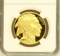 Wholesale Verified Buffalo one troy Ounce fine gold coin graded PF70 and sealed in original case