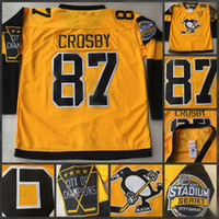 Wholesale Hot Sidney Crosby Jersey Stadium Series Jersey Matt Murray Kris Letang Phil Kessel Pittsburgh Penguins Hockey Jerseys