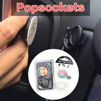 Wholesale Stand and Grip Mount Pop socket Combo PopSockets PopClip for iPhone Car Holder Tablets Bracket Phone Holder for iPhone MOQ