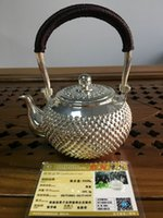 Wholesale 2016 NEW pattern silver teapot sterling silver with Simple style teapot Fashion and health gift for family friend teapot