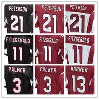 arizona cardinal jersey - 2017 Men Arizona football Cardinals Elite Jersey PALMER FITZGERALD PETERSON MATHIEU WARNER