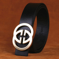 Wholesale New Double G Designers Luxury Cowhide Gg Genuine Leather Pin Brass Buckle Belts for Mens High Quality Male Cowskin Ceinture Homme