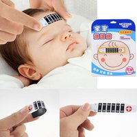 Wholesale New High Quality Forehead Head Strip Thermometer Fever Body Baby Child Kid Test Temperature Q2