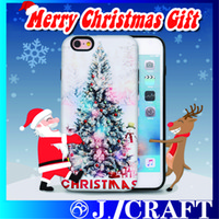 best apple trees - 2016 Best Selling Christmas Gifts Promotional Merry Christmas Pattern Tree D Printing Phone Case For iphone Plus Samusng S7 S7Edge
