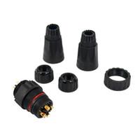 M14 2 Pin Уличный светодиодный индикатор питания специальный адаптер водонепроницаемый разъем IP68 водонепроницаемый контакты Plug-in Heavy Duty Panel Mount