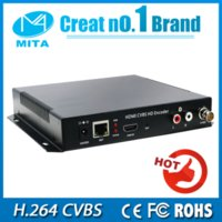 Wholesale DHL HDMI CVBS BNC Encoder H With channel HDMI CVBS Input