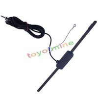 amplified auto antenna - Universal Car Auto Hidden Amplified Antenna v Electronic Stereo Am Fm Radio