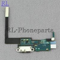 al por mayor note cable de la flexión-Cinta del cable de la flexión del enchufe del puerto del muelle del usb del conectador del cargador 10pcs / lot para la nota 3 N900 3G n9005 4G de la galaxia de Samsung