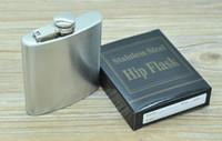Wholesale oz oz oz oz oz oz Stainless Steel Hip Flask Portable Outdoor Flagon Whisky Stoup Wine Pot Alcohol Bottles